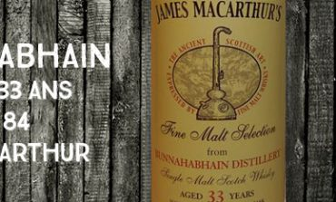 Bunnahabhain - 1980/2013 - 33yo - 45% - Cask 84 - James MacArthur - Fine Malt Selection