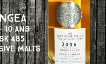Croftengea - 2006/2016 - 10yo - 56,7% - Cask 485 - Creative Whisky Company - The Exclusive Malts
