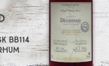 Diamond - 2005/2016 - 71,4% - Cask BB114 - Whisky & Rhum - L'esprit - Guyana