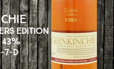Glenkinchie - The Distillers Edition - 1996/2011 - Amontillado Cask Wood - 43% - OB - G/284-7-D