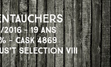 Glentauchers - 1996/2016 - 19yo - 47,2% - Cask 4869 - Le Gus't - Selection VIII
