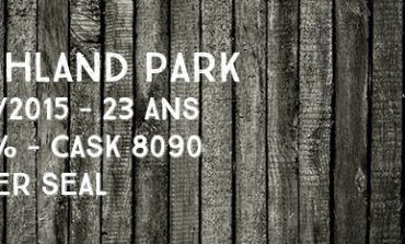 Highland Park - 1991/2015 - 23yo - 51,5% - Cask 8090 - Silver Seal