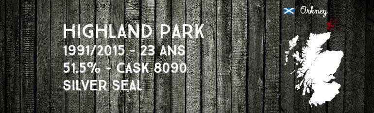 Highland Park – 1991/2015 – 23yo – 51,5% – Cask 8090 – Silver Seal
