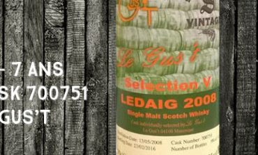 Ledaig - 2008/2016 - 7yo - 60,3% - Cask 700751 - Signatory Vintage - for Le Gus't - Selection V