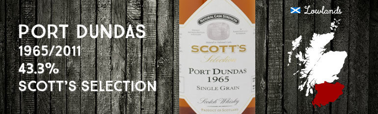 Port Dundas – 1965/2011 – 43,3% – Scott's Selection