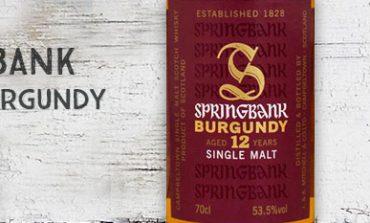 Springbank - 12yo - Burgundy - 53,5% - OB - 2016