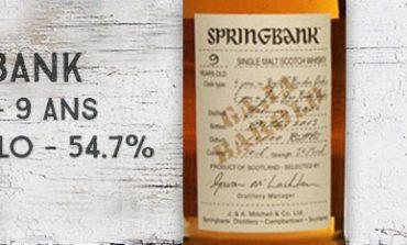 Springbank - 2004/2013 - 9yo - Gaja Barolo - 54,7% - OB - Wood Expression