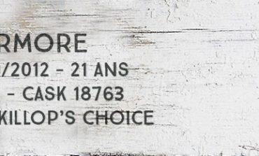 Tormore - 1990/2012 - 21yo - 52% - Cask 18763 - MacKillop's Choice