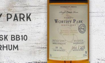 Worthy Park - 2007/2016 - 55,9% - Cask BB10 - Whisky & Rhum - L'esprit - Jamaïque