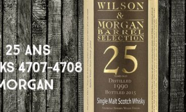 Caol Ila - 1990/2015 - 25yo - 54,3% - Casks 4707-4708 - Wilson & Morgan - Barrel Selection