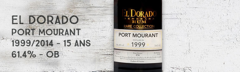 El Dorado – Port Mourant – 1999/2014 – 15yo – 61,4% – OB – Rare Collection – Guyana