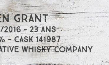 Glen Grant - 1992/2016 - 23yo - 50,1% - Cask 141987 - Creative Whisky Company