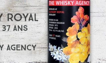Glenury Royal - 1973/2010 - 37yo - 42,1% - The Whisky Agency - Still Lifes I