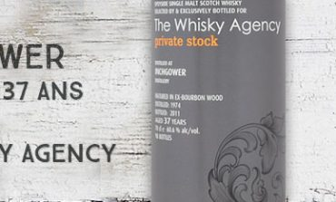 Inchgower - 1974/2011 - 37yo - 60,6% - The Whisky Agency - Private stock