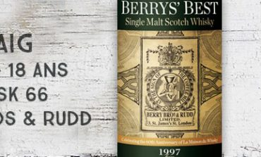 Laphroaig - 1997/2016 - 18yo - 52,2% - Cask 66 - Berry Bros & Rudd for LMDW