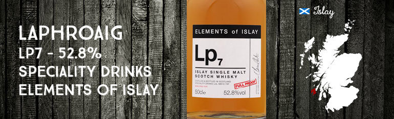 Laphroaig – Lp7 – 52,8% – Speciality Drinks – Elements of Islay