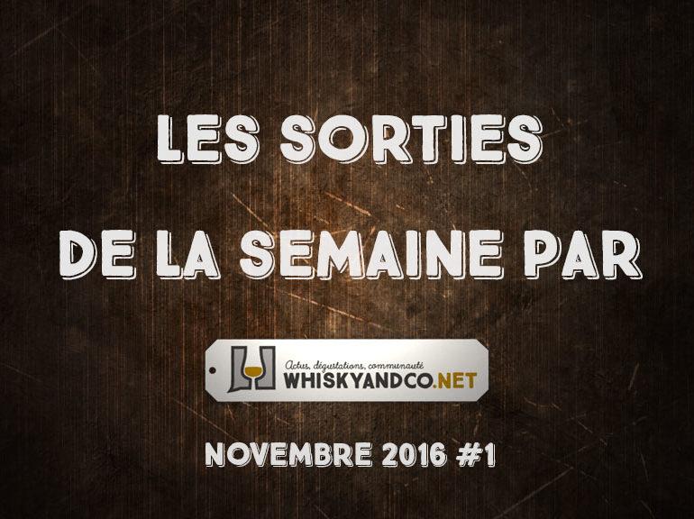 Les sorties de la semaine : novembre 2016 #1