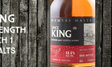 Spice King - Batch Strength - 56% - Batch 1 - Wemyss Malts- 2016