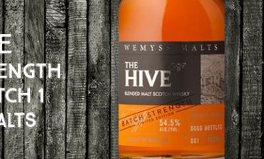The Hive - Batch Strength - 54,5% - Batch 1 - Wemyss Malts- 2016