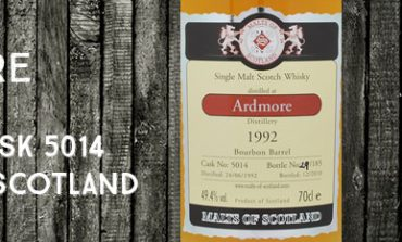 Ardmore - 1992/2010 - 49,4% - Cask 5014 - Malts of Scotland