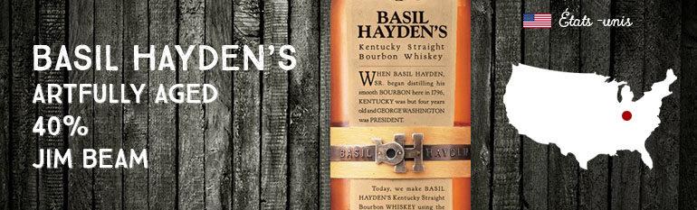 Basil Hayden's – Artfully Aged – 40% – Jim Beam