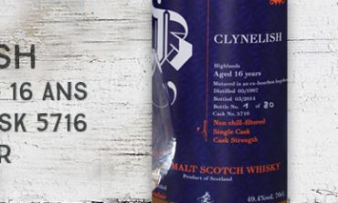 Clynelish - 1997/2014 - 16yo - 49.4% - Cask 5716 - Brachadair