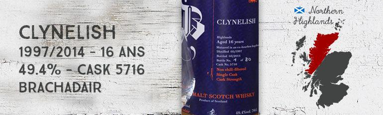 Clynelish – 1997/2014 – 16yo – 49.4% – Cask 5716 – Brachadair