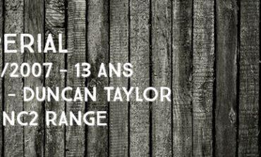 Imperial - 1994/2007 - 13yo - 46% - Duncan Taylor - The NC2 Range