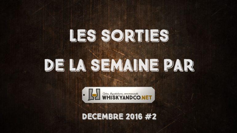 Les sorties de la semaine : décembre 2016 #2