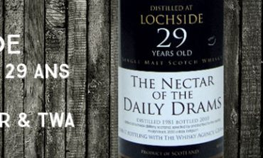 Lochside - 1981/2010 - 29yo - 48,6% - The Nectar & The Whisky Agency - The Nectar Of The Daily Drams