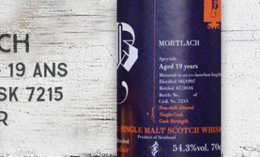 Mortlach - 1997/2016 - 19yo - 54.3% - Cask 7215 - Brachadair