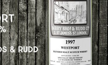 Westport - 1997 - 55,4% - Cask 3291 - Berry Bros & Rudd - for La Maison Du Whisky