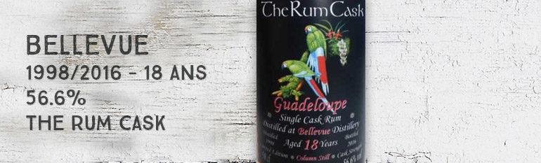 Bellevue – 1998/2016 – 18yo – 56.6% – The Rum Cask – Guadeloupe