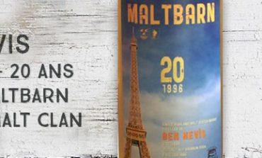 Ben Nevis - 1996/2016 - 20yo - 53,3% - Maltbarn - For The Malt Clan