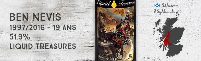 Ben Nevis – 1997/2016 – 19yo – 51.9% – Liquid Treasures – Fairy Tales Edition