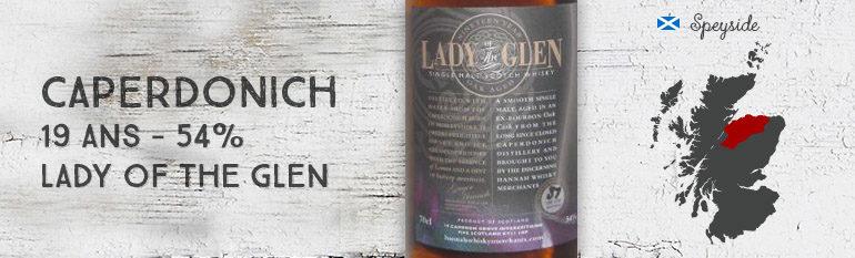 Caperdonich – 19yo – 54% – Lady of The Glen