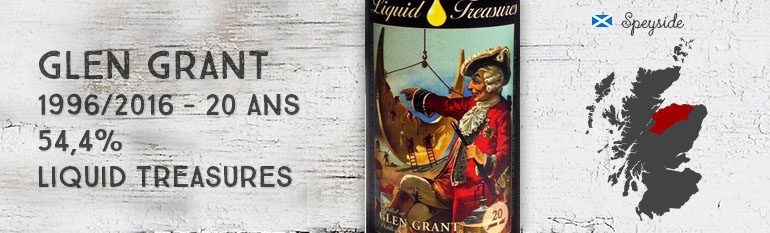 Glen Grant – 1996/2016 – 20yo – 54,4% – Liquid Treasures – Fairy Tales Edition