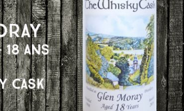 Glen Moray - 1998/2016 - 18yo - 56.8% - The Whisky Cask