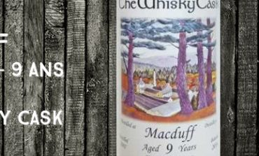 Macduff - 2007/2016 - 9yo - 65.8% - The Whisky Cask