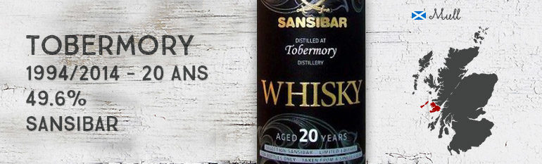 Tobermory – 1994/2014 – 20yo – 49.6% – Sansibar