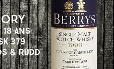 Tobermory - 1996/2014 - 18yo - 53.7% - Cask 379 - Berry Bros & Rudd
