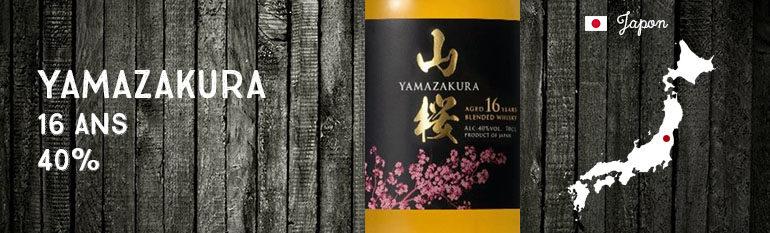 Yamazakura – 16yo – 40% – Blend