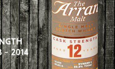 Arran - 12yo - Cask Strength - 53,2% - OB - 2014
