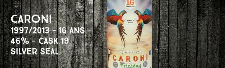 Caroni – 1997/2013 – 16yo – 46% – Cask 19 – Silver Seal – Trinidad & Tobago