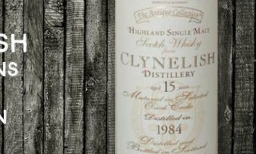 Clynelish - 1984 - 15yo - 43% - Dun Eidann - The Antique Collection