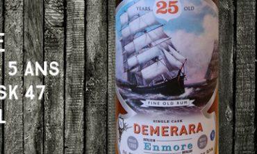 Enmore - 1988/2013 - 25yo - 55.7% - Cask 47 - Silver Seal - Guyana