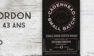 Invergordon - 1972/2016 - 43yo - 48,3% - Cadenhead - Small Batch
