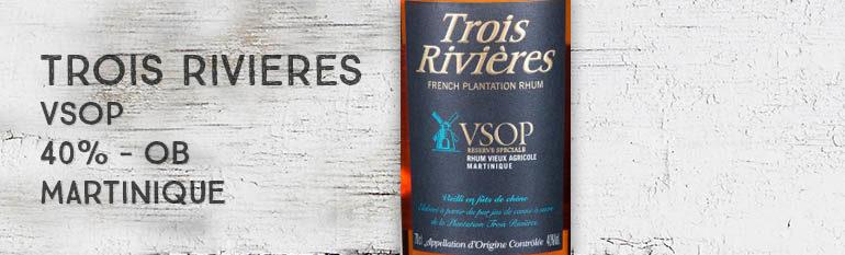 Trois Rivières – VSOP – 40% – OB – Martinique