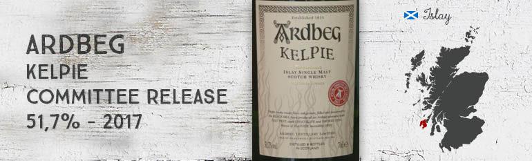 Ardbeg – Kelpie – Committee Release – 51,7% – OB – 2017