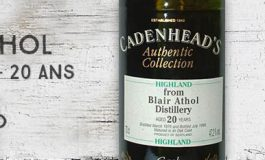 Blair Athol - 1976/1996 - 20yo - 47,2% - Cadenhead - Authentic Collection
